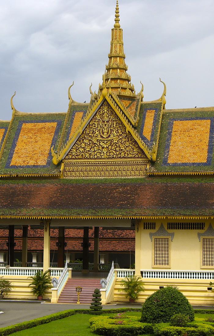 Palacio real en Phnom Penh, Camboya - Viajes Ikertanoa