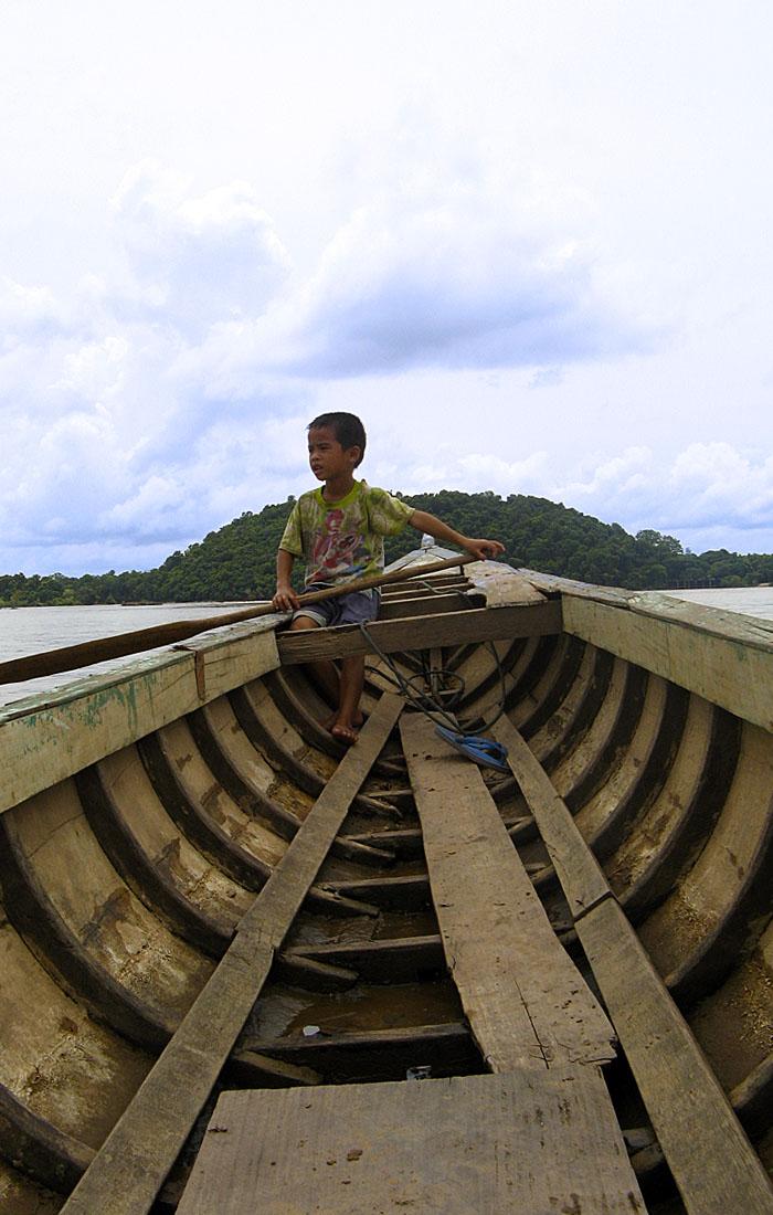 Viajes a Asia con Viajes Ikertanoa, todo el asesoramiento y la información necesaria para viajar independiente y diferente. Fotografía de Laos, río Irrawaddy a su paso por Don Khong.