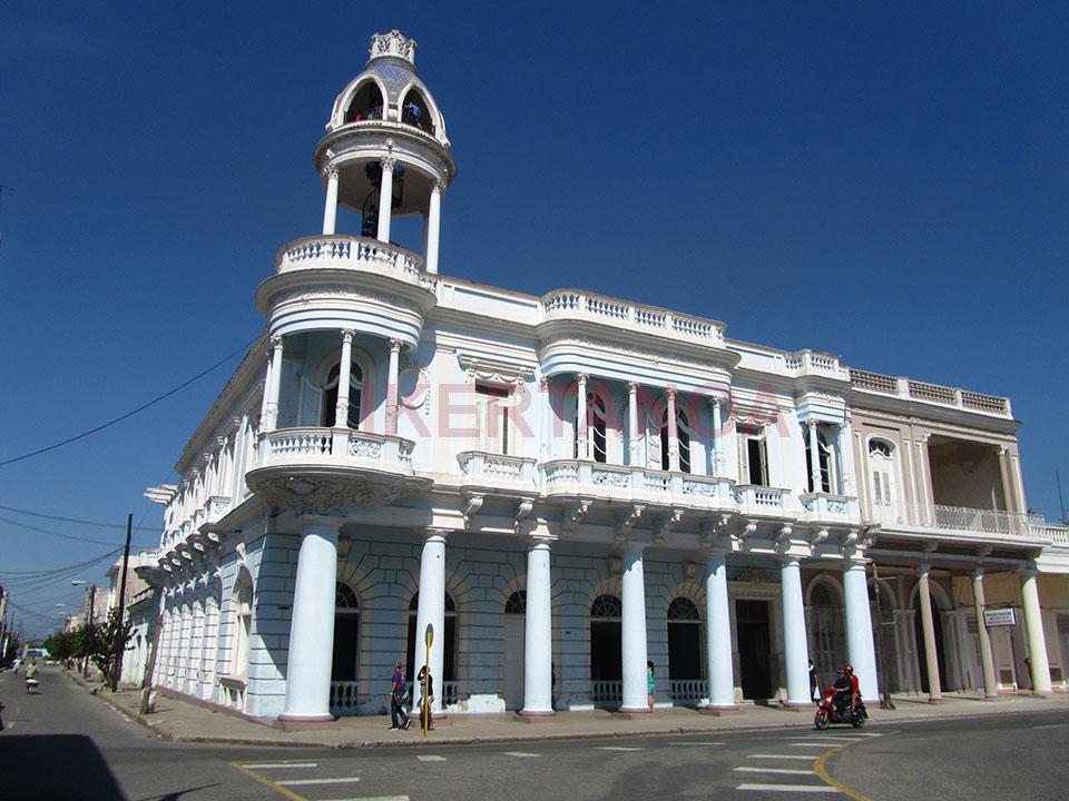 La Casa de la cultura Benjamín Duarte en Cienfuegos