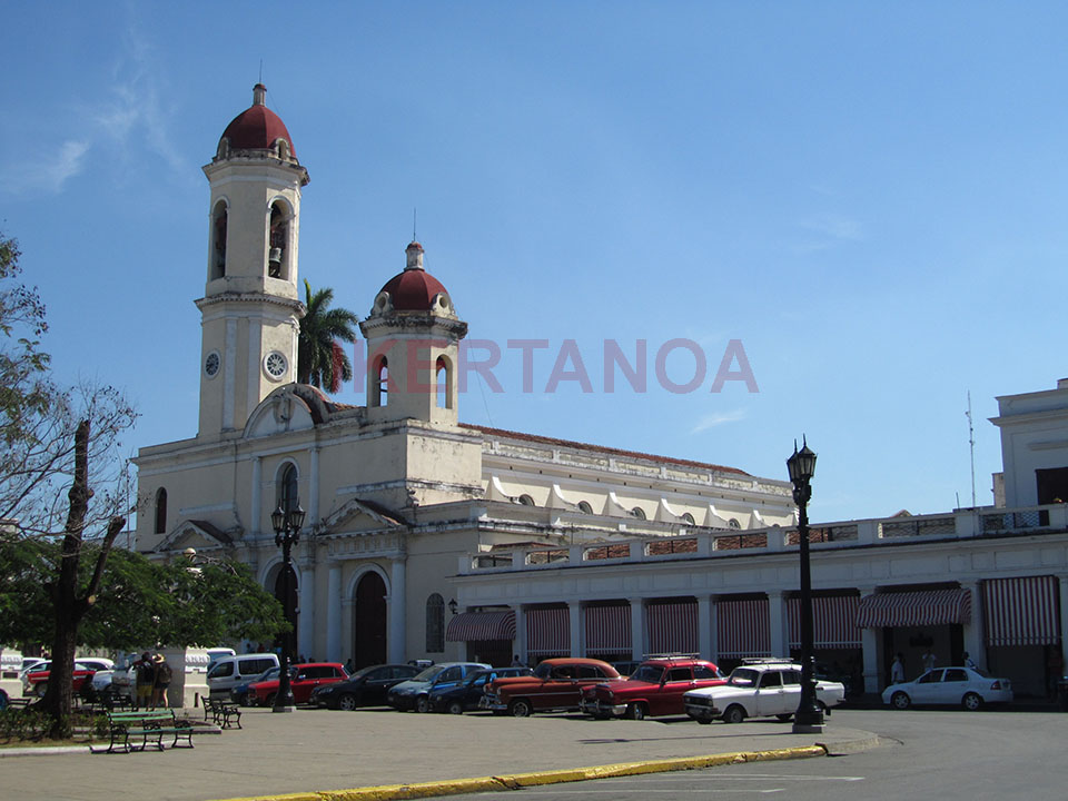 Catedral de la Purísima Concepción en Cienfuegos