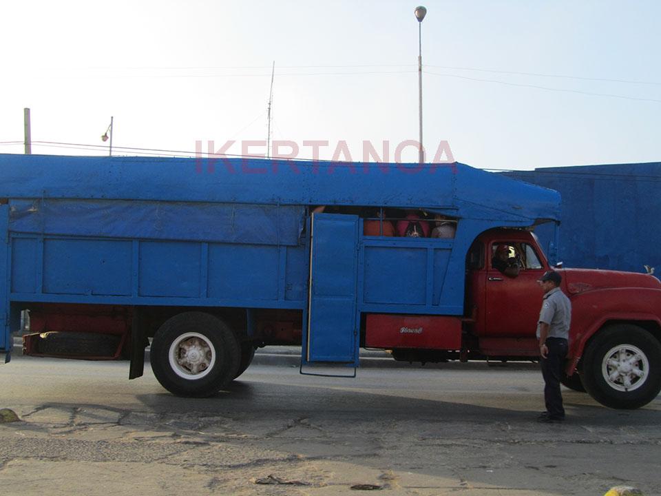 Transporte en camión