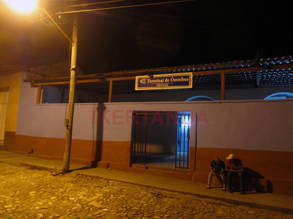 Estación del Viazul en Trinidad
