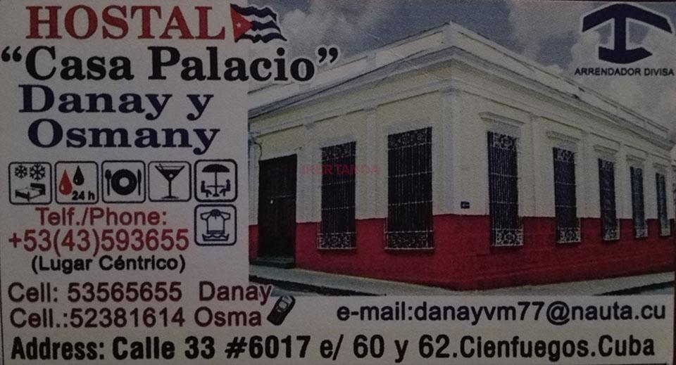 Hostal Casa Palacio en Cienfuegos