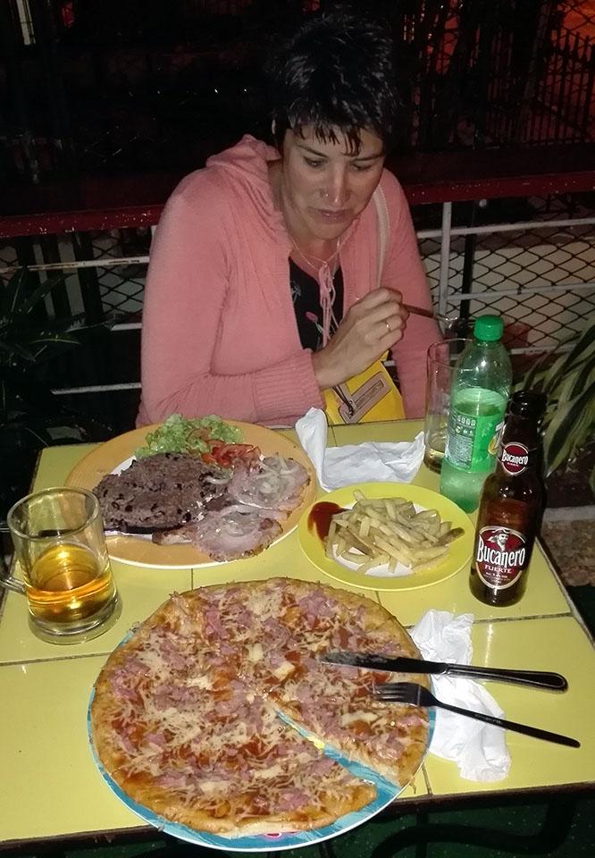 La última cena en La Habana