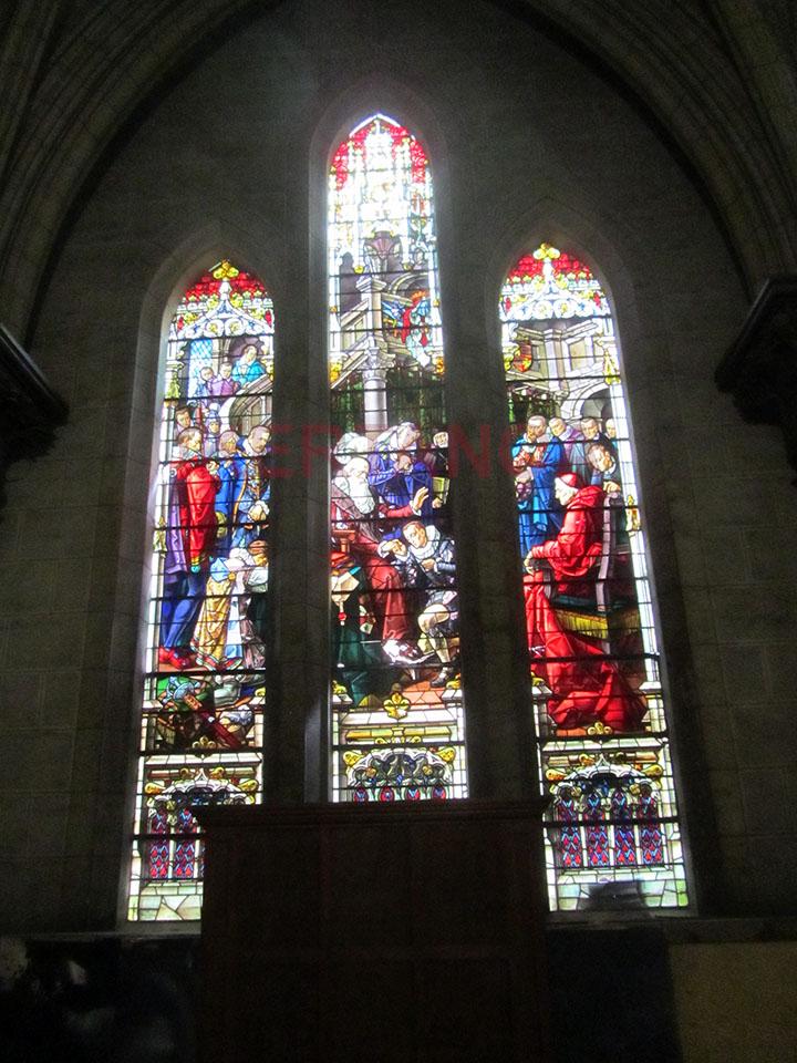 Vidrieras de la Iglesia del Sagrado Corazón de Jesús