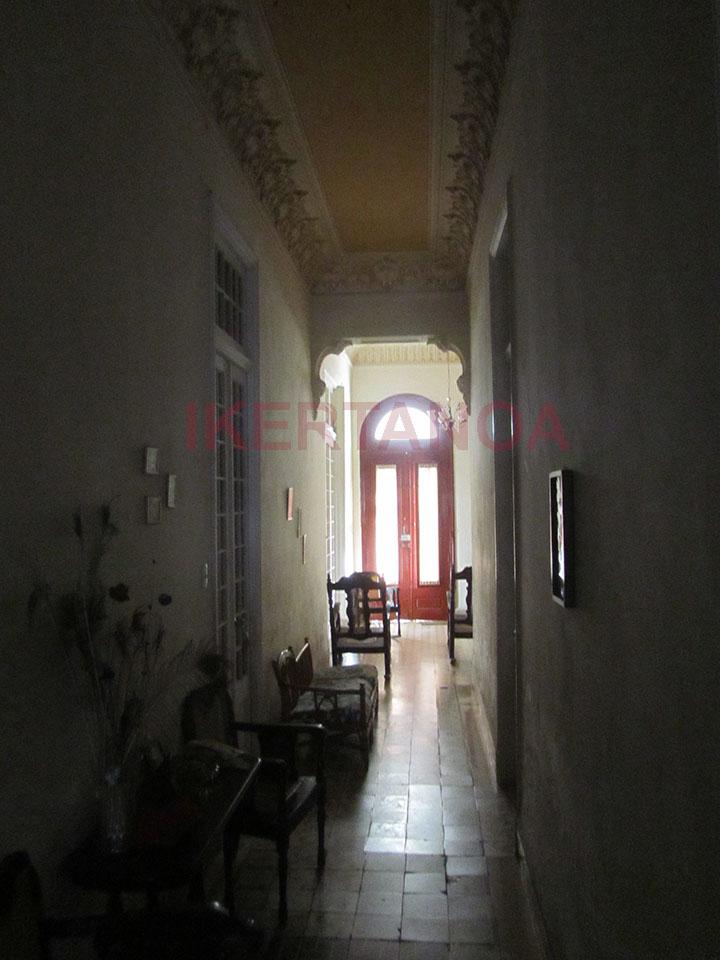 Interior de la casa particular