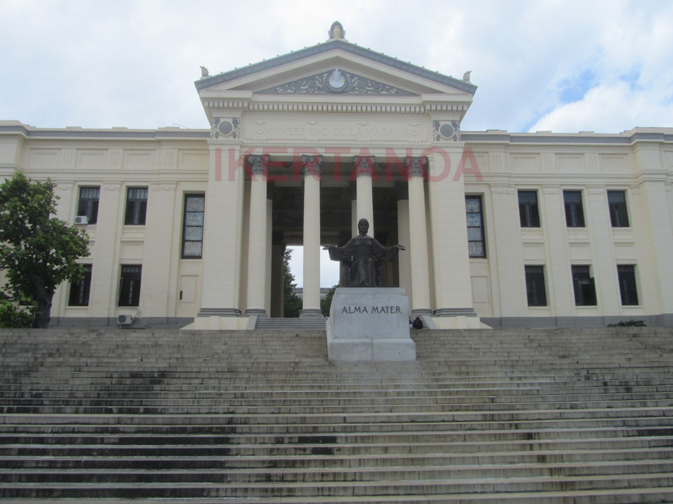 La universidad de La Habana
