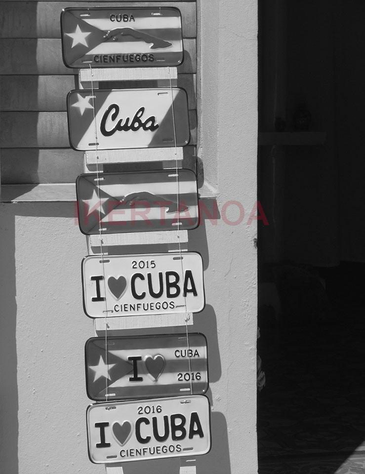 Matrículas cubanas en Cienfuegos