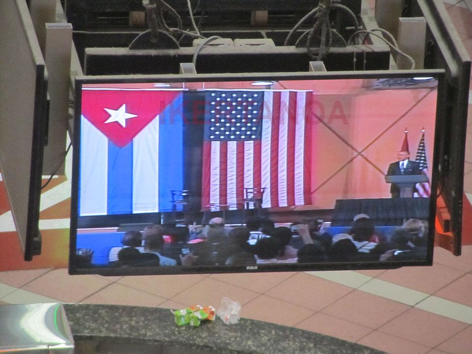 Siguiendo la histórica visita de Obama a Cuba