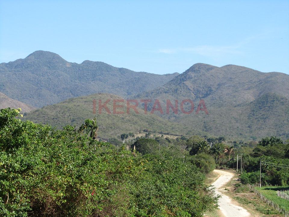 Montes en el Valle de los Ingenios en Trinidad.