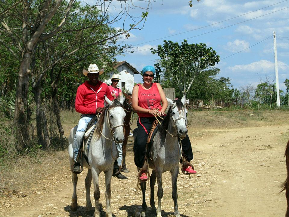 Paseo a caballo por el Valle de los Ingenios