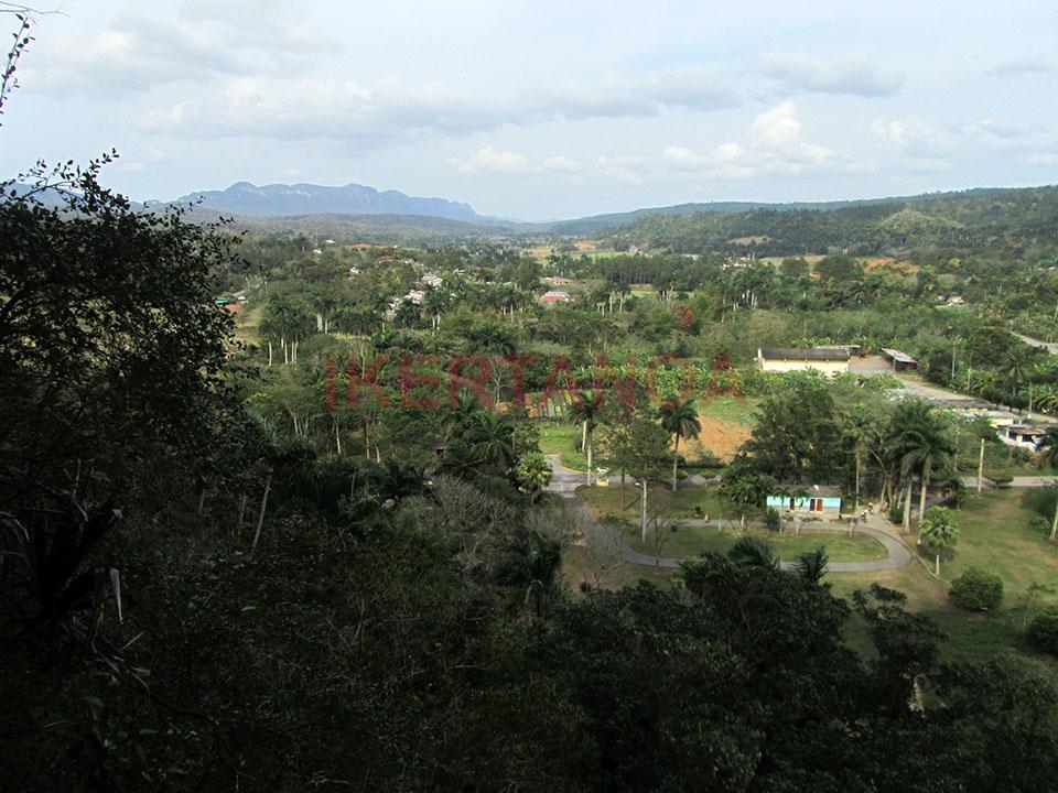 Vistas desde lo alto de la Cueva de Santo Tomás