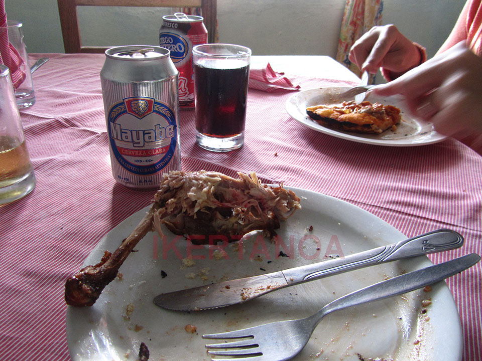 Desayuno en Minas de Matahambre