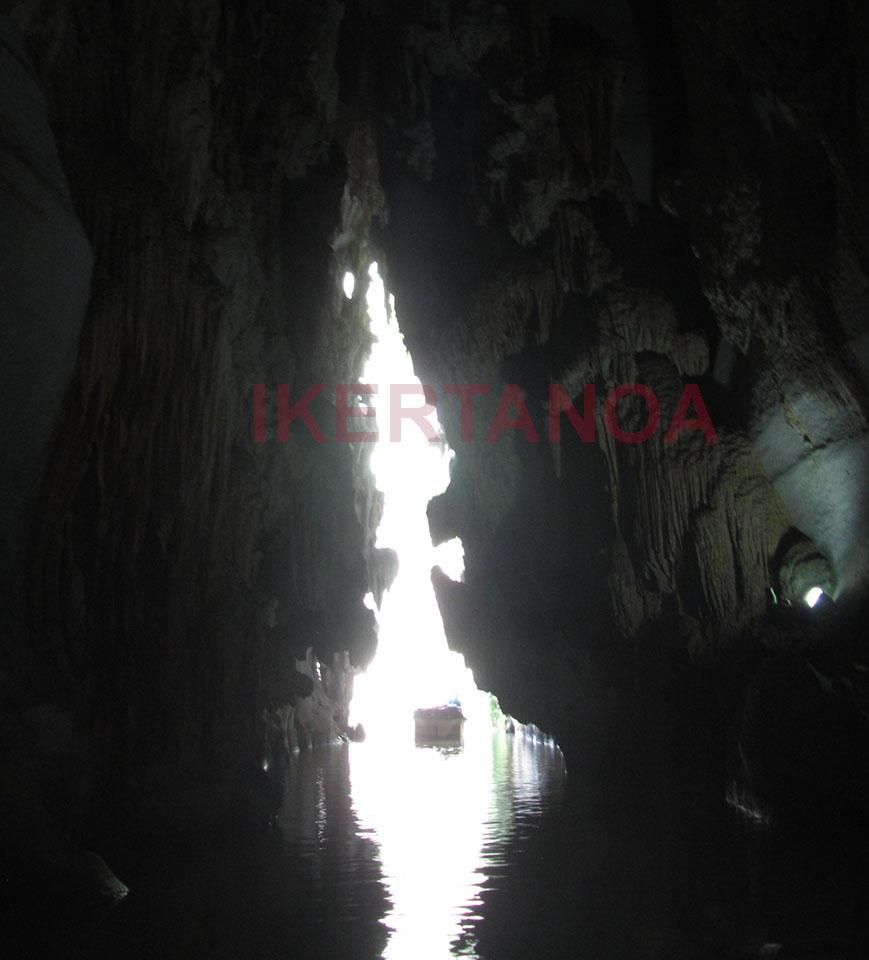 La salida de la Cueva de Indio