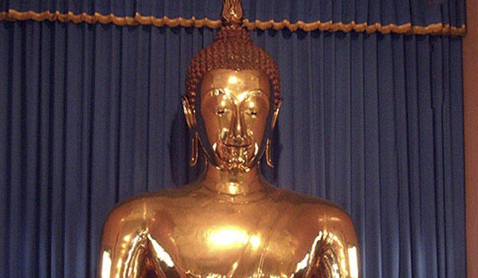 Bangkok, viajes a Tailandia, Buda de oro macizo en Wat Traimit - Viajes Ikertanoa