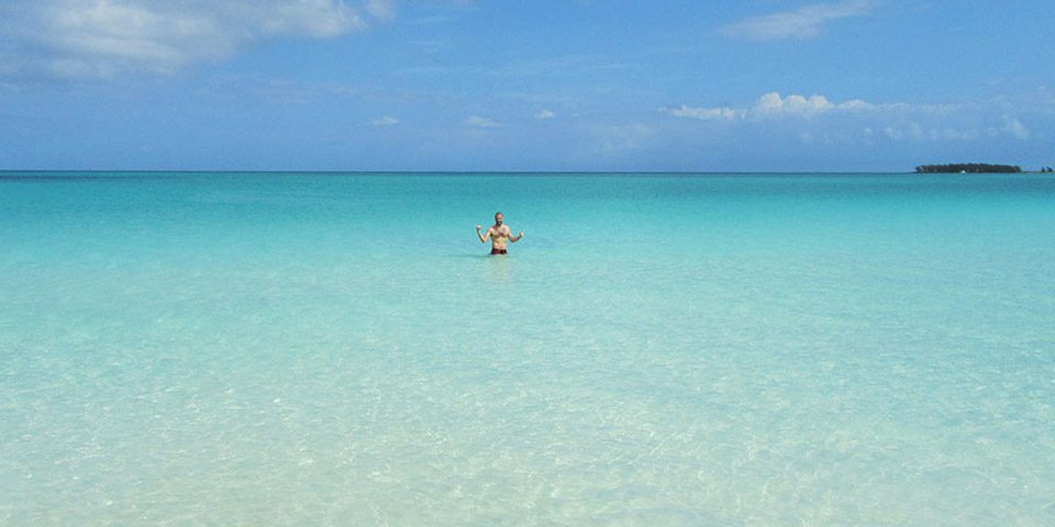 Baño en Playa de Cabo Guillermo