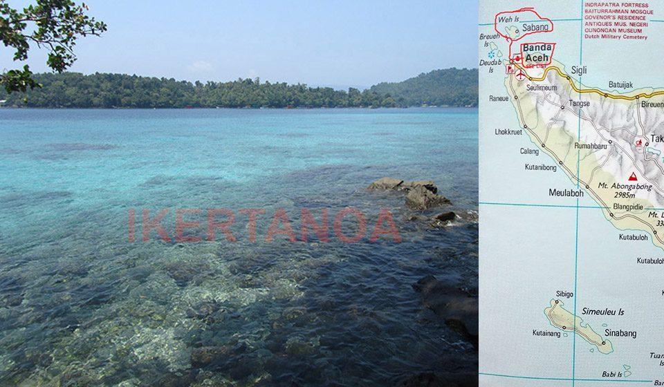 Vista de Iboih en Pulau Weh, Sumatra, Indonesia - Viajes Ikertanoa