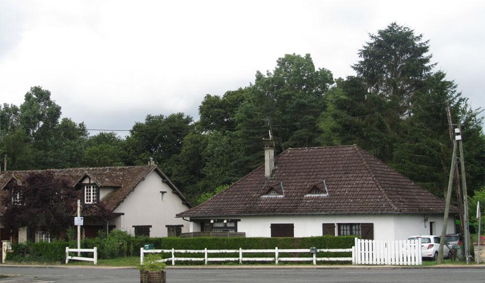 El pueblo de Sanguinet en Las Landas al sur de Francia
