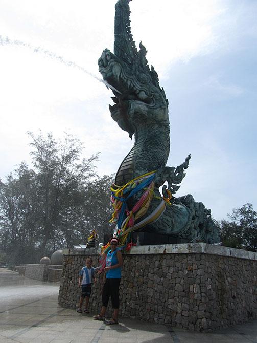 Dragón en Songkhla, Viajes a Tailandia con Viajes Ikertanoa