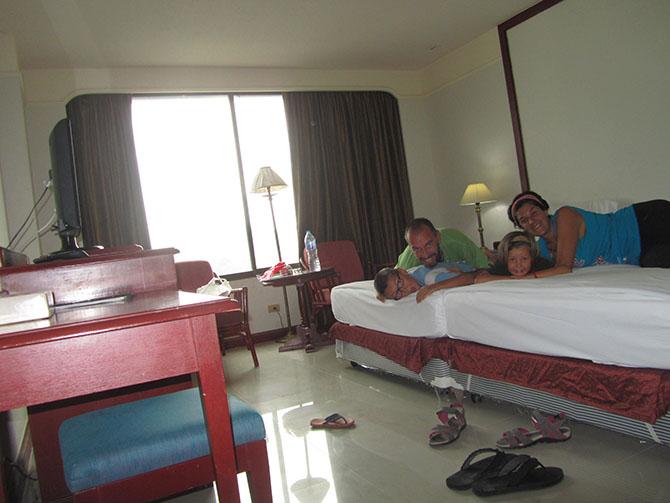 Habitación del Pabillion Hotel en Songkhla, Viajes a Tailandia con Viajes Ikertanoa