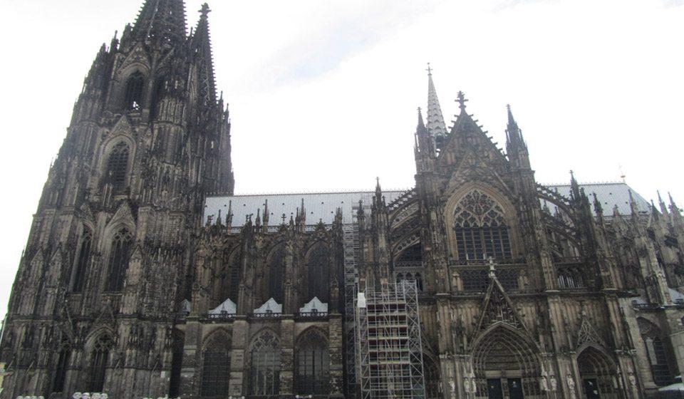 La Catredral de Colonia en Alemania, Patrimonio de la Humanidad por la Unesco.