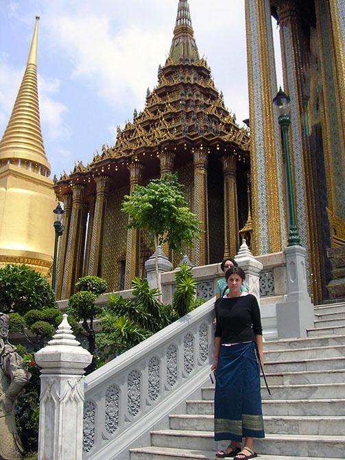 Wat Phra Kaew, Templo del Buda Esmeralda en el Gran Palacio de Bangkok. Viajes a Bangkok, Tailandia con Viajes Ikertanoa.