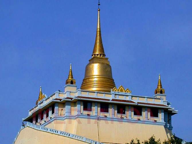 Wat Saket. Viajes a Bangkok, Tailandia con Viajes Ikertanoa.