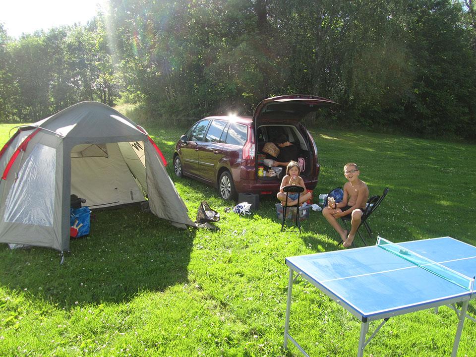 El camping Bogstad en Oslo, Noruega.