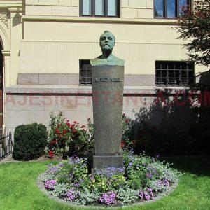 El instituto Alfred Nobel en Oslo, Noruega.