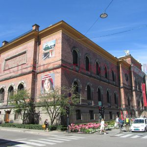 El museo nacional en Oslo, Noruega.