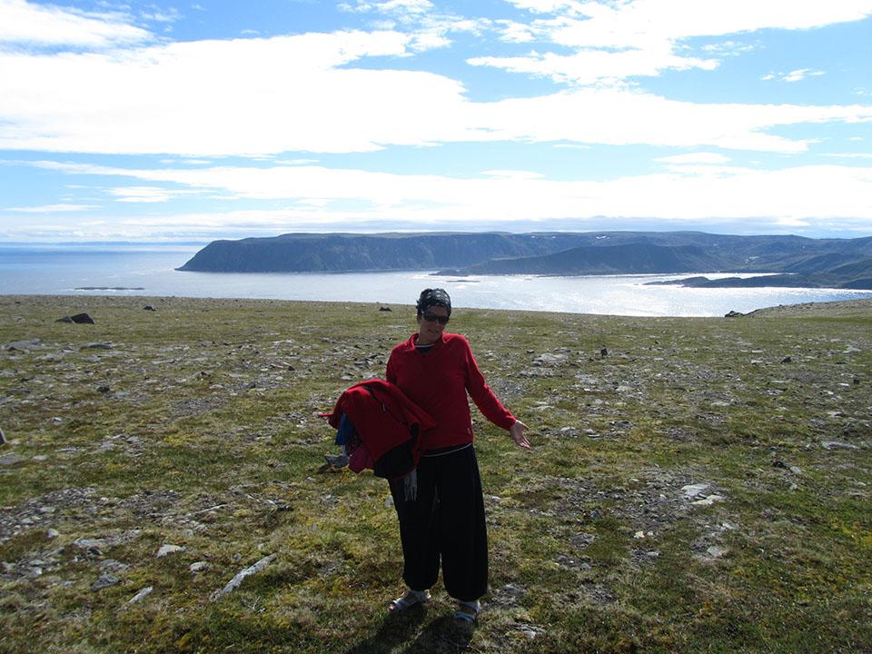 Explanada en Cabo Norte en Noruega.