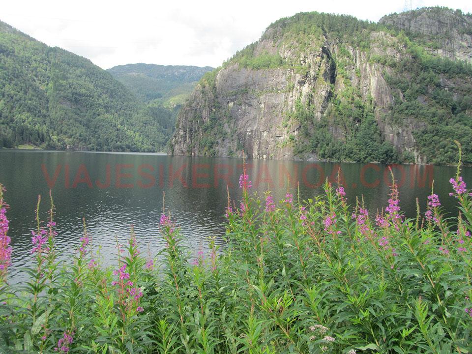 El firodo Sorfjorden en Noruega.
