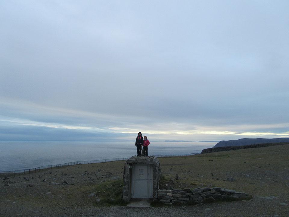 La zona menos turística de Cabo Norte en Noruega.