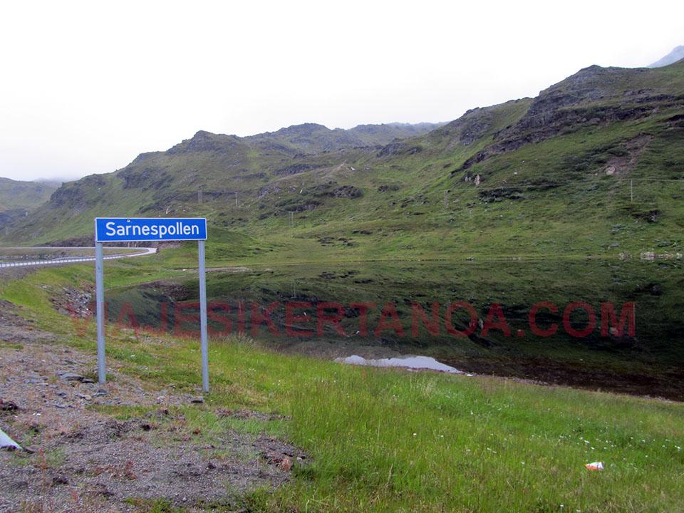 Peculiar nombre de un pueblo camino a Cabo Norte en Noruega.