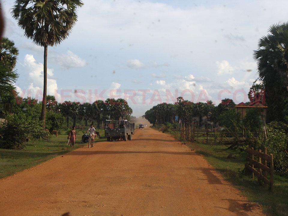 Carretera hacia el sur de Laos.