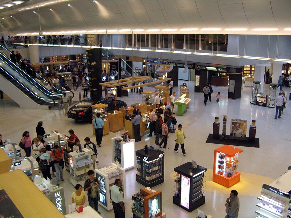 Aeropuerto de Doha en Qatar.