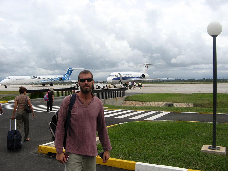 Aeropuerto de Siem Reap en camboya.