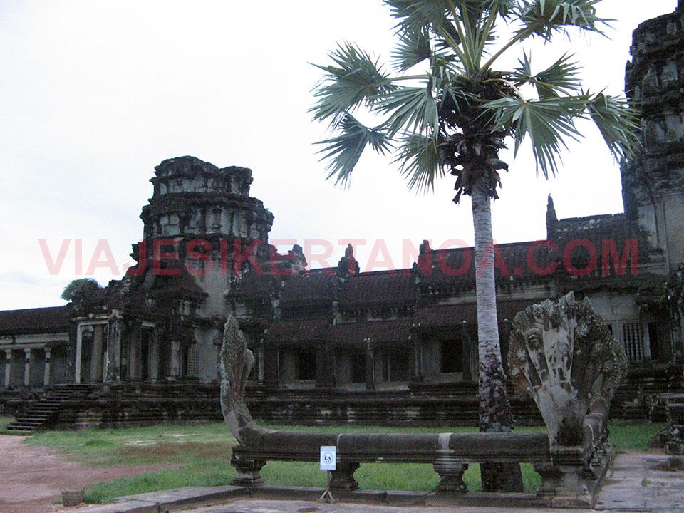 El Angkor Wat en Siem Reap, Camboya.