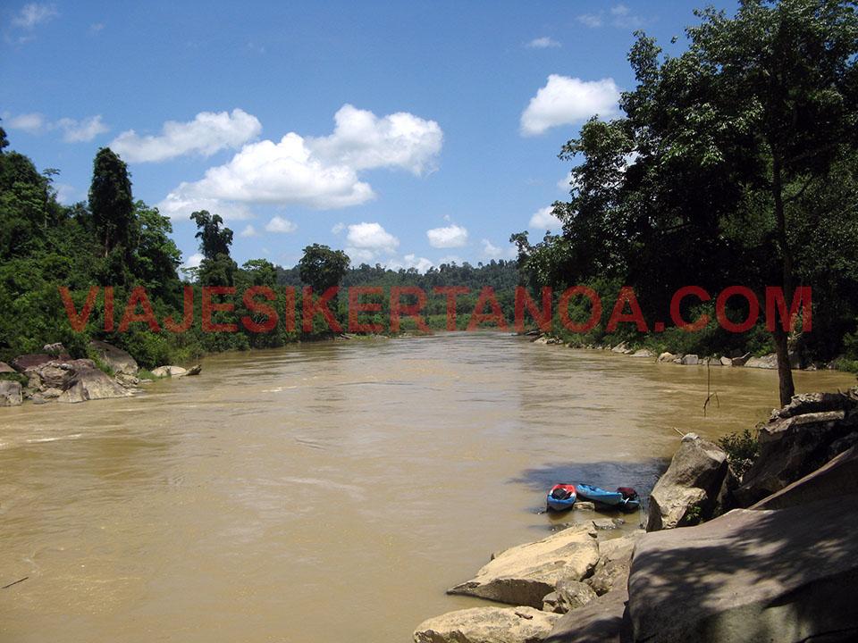 El río Song en Laos.