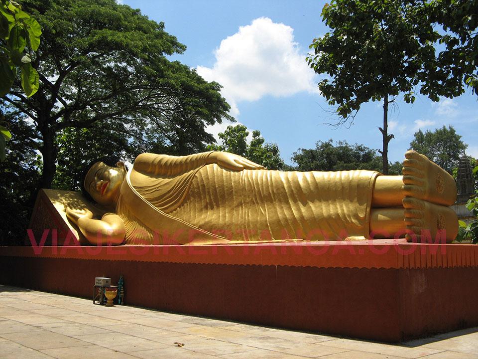 Los templos de Phnom Srei en Kampong Cham en Camboya.