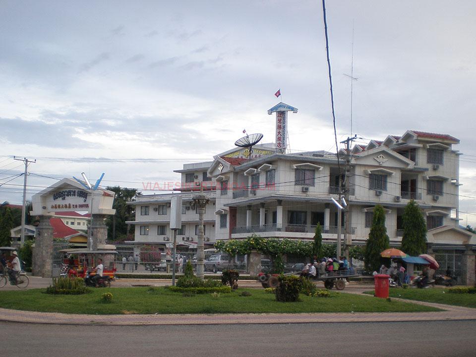 Hotel Teo en Battambang, camboya.
