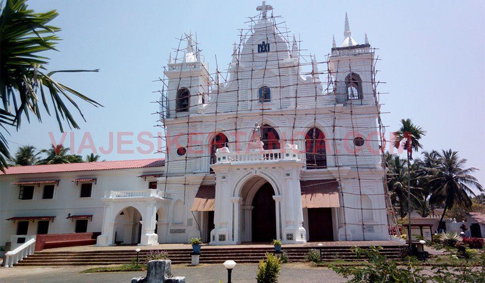 Iglesia en Goa, India.