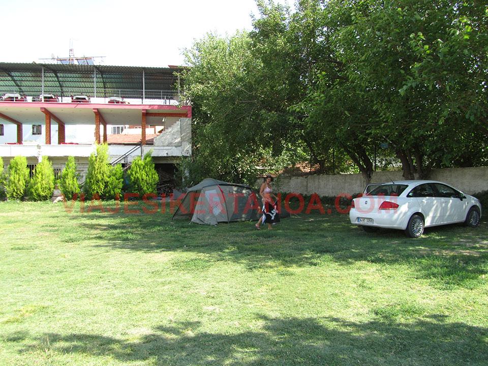 Camping Baydil en Pamukkale, Turquía.