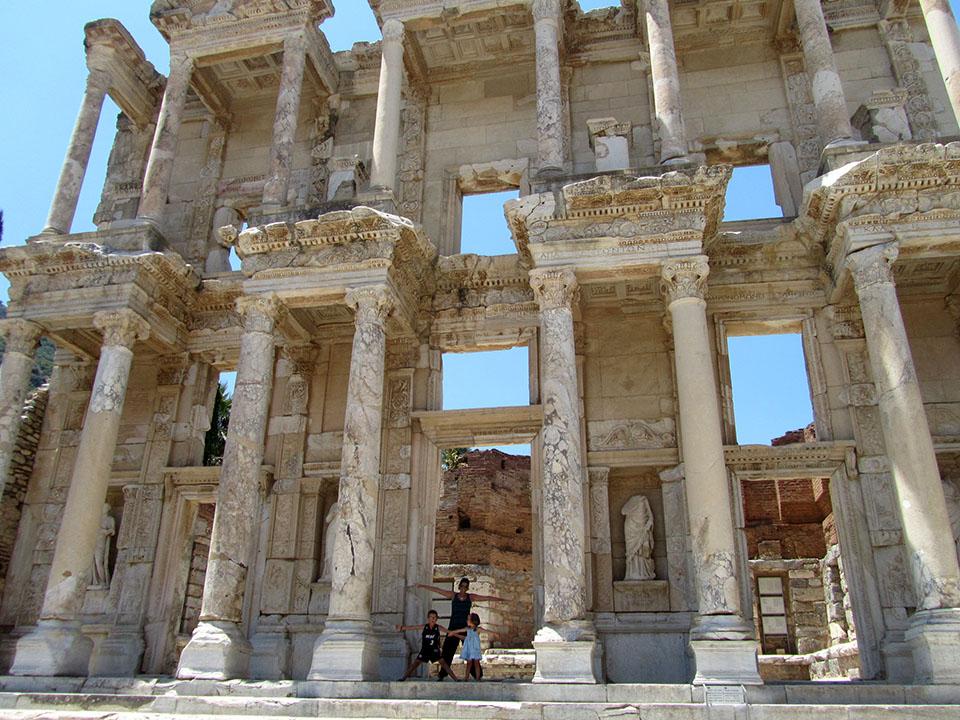 Éfeso en Turquía.