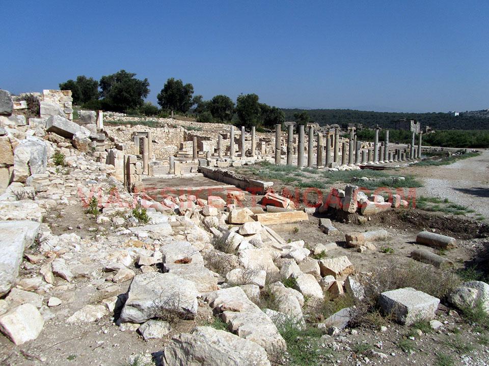 El ágora de Patara en Turquía