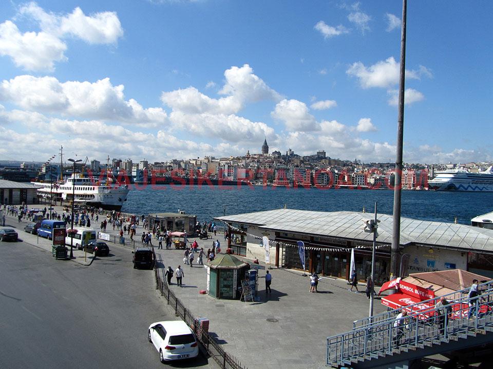 El Cuerno de Oro en Estambul, Turquía.