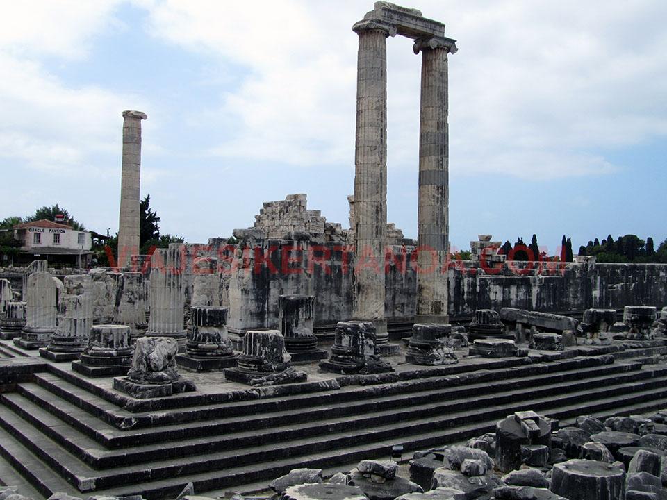 El Templo de Apolo en Didima, Turquía.