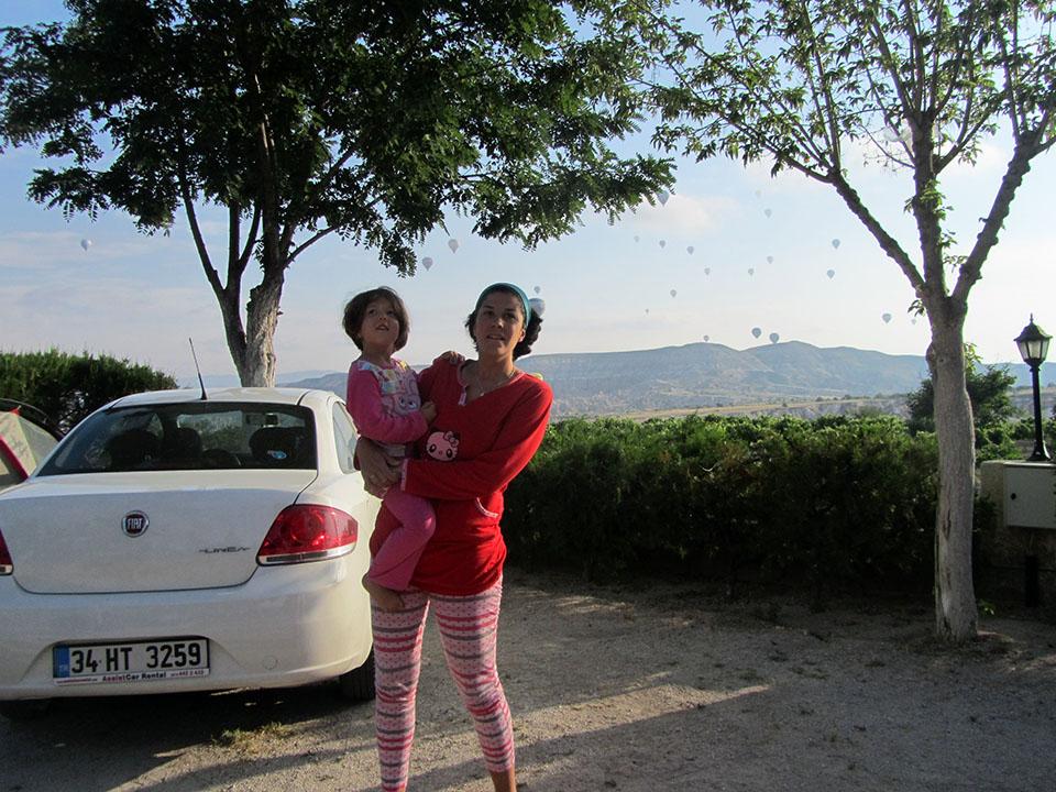 Kaya camping en Göreme, Turquía.