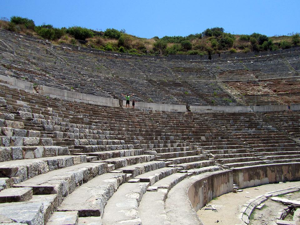La antigua ciudad de Éfeso en Turquía