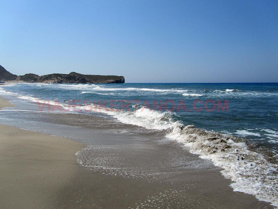 La playa más larga de Turquía en Patara.